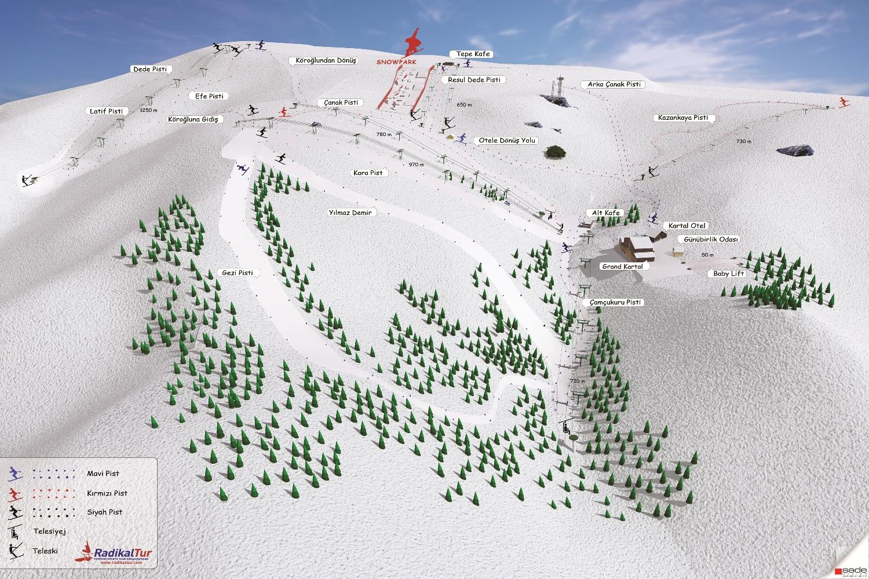 Kartalkaya Gunubirlik Kayak Turlari Haftasonu Gunlerde